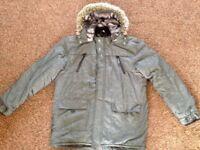 Winter coat age 13-14yrs