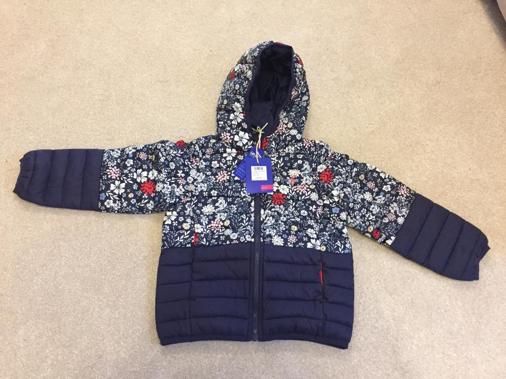 NEW Joules Girls padded coat