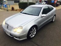 Mercedes Benz C200 Kompressor, AUTO, Full Leather,1.8Petrol, F.S.Hstry, Year MOT, 3 Months Warranty