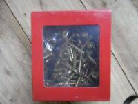 Decking spindle screws 4mmx40mm Free driver bit inc