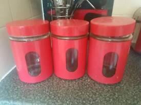 Tea sugar coffee pots