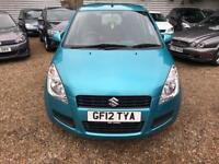 SUZUKI SPLASH 1.0 SZ2 5d 68 BHP 2 KEYS £30 ROAD TAX (turquoise) 2012