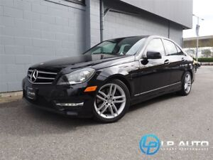 2014 Mercedes-Benz C-Class C300 4MATIC! Only 34000kms! Navigatio