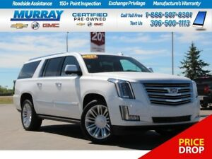 2017 Cadillac Escalade ESV *REMOTE START,NAV SYSTEM,HEATED SEATS