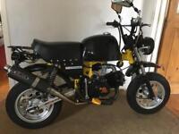 2007 140cc monkey bike