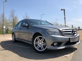 Mercedes-Benz C CLASS 2.1 CDI BlueEFFICIENCY Heated Leather Seats Cruise Control