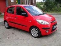 HYUNDAI I10 CLASSIC 1.2 41790 MILES,£30 YEARLY TAX£1595 PX &CARDS WELCOME