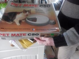 pet mate automatic pet feeder new in box only £18