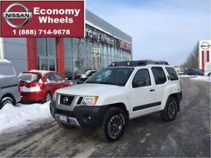 2015 Nissan Xterra PRO-4X / Leather one owner
