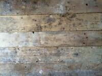 Victorian Pine Floorboards