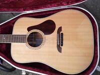 K Yairi DYM94 Masterworks Acoustic Guitar Mahogany