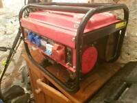 6500w camping generator 240v
