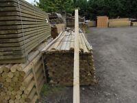 Fence Post Half round 100mmx3.6m long