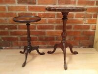 VINTAGE RETRO SMALL SIDE TELEPHONE TABLES COFFEE - DELIVERY AVAILABLE