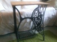 Treadle sewing machine , base only