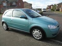 VAUXHALL CORSA DESIGN 1.2 2005 (ONLY 46000 MILES) FULL MOT IMMACULATE AS FIESTA ASTRA CLIO KA PUNTO
