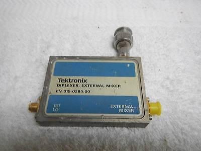 Tektronix Diplexer External Mixer 015-0385-00 Waveguide Adapter