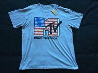 New (River Island) MTV t-shirt – Size Large