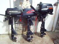 OUTBOARD MOTORS X3 £600
