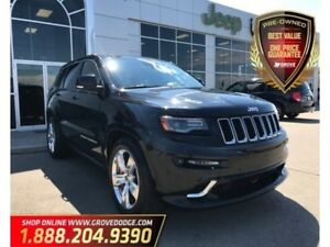 2014 Jeep Grand Cherokee SRT8|Leather/Suede| Sunroof| Remote Sta