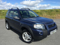 VERY CLEAN LOW MILEAGE 2006 LAND ROVER FREELANDER WITH FULL SERVICE HISTORY