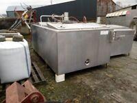 Fullwood Dari-Kool 600 gallon bulk milk tank