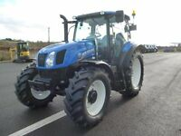 2014 New Holland T6.165 with 702hours