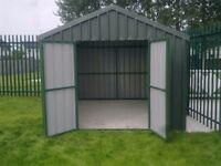 maintenance free steel sheds - we build to suit your space