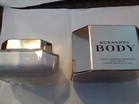 Burberry Body Gold Limited Edition Body Cream