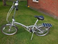 Dawes Kingpin folding bike
