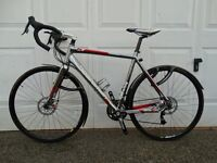 Boardman CX Team Road/cycle cross bike. Bought for £800, rarely used. Frame size 52cm