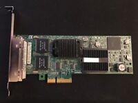 4 Port Intel D61627-003 Pro/1000 Gigabit Ethernet Server Adapter PCIe