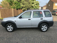 2002 LAND ROVER FREELANDER AUTOMATIC DIESEL LEATHER SEATS/honda crv/suzuki vitara/jeep/auto