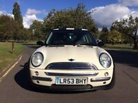MINI HATCHBACK - 1.6 Cooper 3dr, Previous Lady owner
