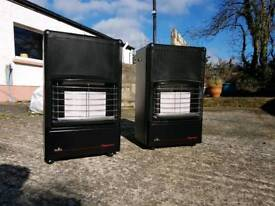 Two Gas Heaters