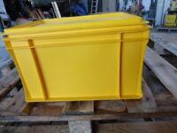 """Plastic Storage Containers with Lids 14""""x 10.1/2"""" x 8.1/2"""" S"""