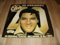 ELVIS 40 GREATEST DOUBLE VINYL ALBUM