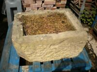 Stone Planter LARGE STONE TROUGH Original