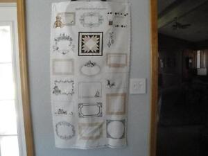 Quilting Labels Panel for Your Special Quilts-All Different-Northcott Fabrics