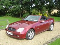 Mercedes slk convertible 2001, 62k miles 2 owners vgc
