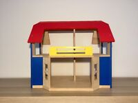 gorgeous wooden dolls house and furniture