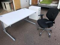 Office table cabinet and chairs free London