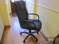 SOLD Executive style study / office chair