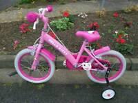 Girls hello. Kitty bike