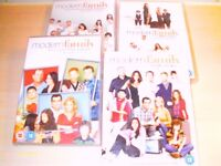 Modern Family, series 1-4 on dvd