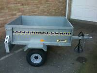 Car Trailer 4ft 2ins x 3ft 4ins x 15ins deep