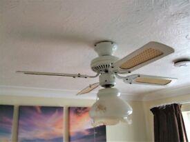 """Fantasia 36"""" ceiling fan in white"""