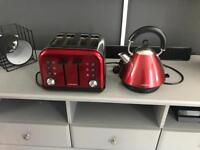 Morphy Richards kettle and toaster (4slice)