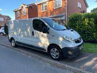 2011 Vauxhall Vivaro 2.0 Dci 12 Months Mot LWB version Same Renault trafic Mint