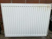 Single convection radiator 80x60cm - used